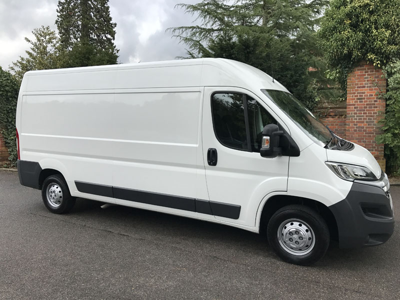 Long Term LWB High Top Van Hire