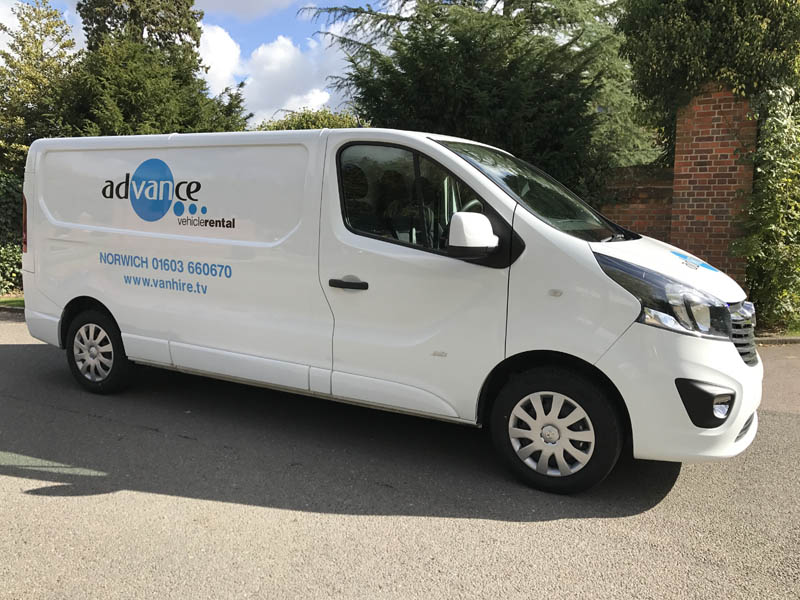 Medium Van Hire