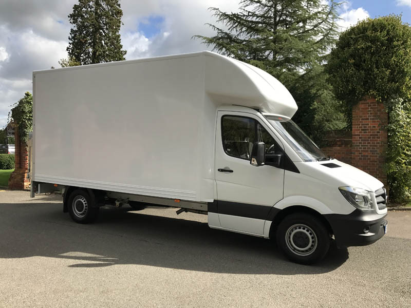 Long Term Luton Van Tail-Lift Hire Norwich