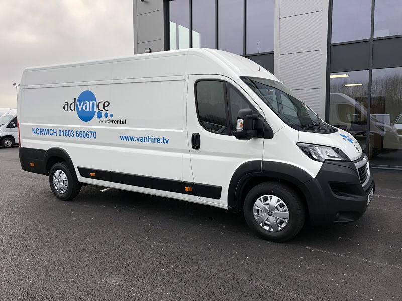Jumbo L4 Business Van Hire